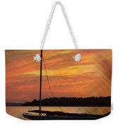 Sailin' On Dewey Weekender Tote Bag