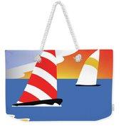Sailing Before The Wind Weekender Tote Bag
