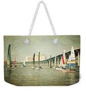 Sailing Weekender Tote Bag