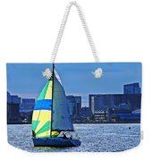 Sailing On Boston Harbor Weekender Tote Bag