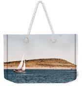 Sailing On Carter Lake Weekender Tote Bag
