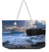 Sailing On The Silk Blue Sea Weekender Tote Bag