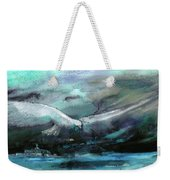 Sailing Over The Sea Weekender Tote Bag
