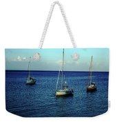 Sailing The Blue Waters Of Greece Weekender Tote Bag