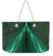 Sailing The Electric Green Sea Weekender Tote Bag