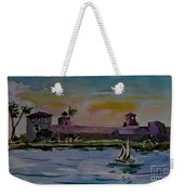 Sailing To The Spanish Fort Weekender Tote Bag