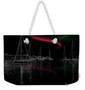 Sailing Under Strange Lights Weekender Tote Bag