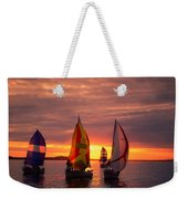 Sailing Yachts Weekender Tote Bag