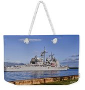 Sailors Aboard The Guided-missile Weekender Tote Bag