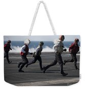 Sailors Clear The Landing Area Weekender Tote Bag