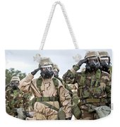 Sailors Dressed In Full Mission Weekender Tote Bag