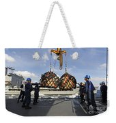 Sailors Help Guide A Pair Of Incoming Weekender Tote Bag
