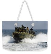 Sailors Navigate The Waters Weekender Tote Bag