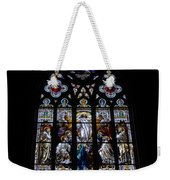 Saint Johns Stained Glass Weekender Tote Bag