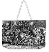 Saint Lawrence (c225-258) Weekender Tote Bag by Granger
