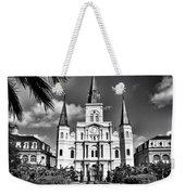 Saint Louis Cathedral Weekender Tote Bag