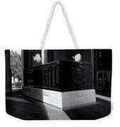 Saint Louis Soldiers Memorial Black And White Weekender Tote Bag
