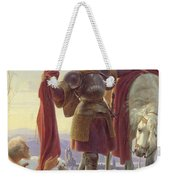Saint Martin And The Beggar Weekender Tote Bag