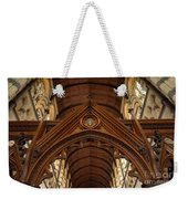 Saint Marys Church Interior 1 Weekender Tote Bag
