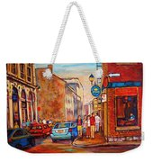 Saint Paul Street  Montreal Weekender Tote Bag