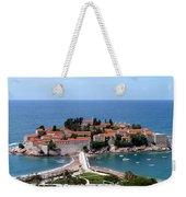 Saint Stephen In Montenegro Weekender Tote Bag