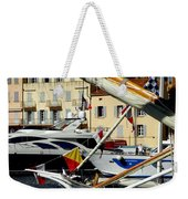 Saint Tropez Harbor Weekender Tote Bag