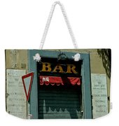 Saintly Bar Weekender Tote Bag