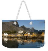 Sakrisoy Fishermen's Village Weekender Tote Bag
