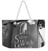 Salem Witch Museum Weekender Tote Bag