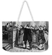 Salem Witch Trials, 1692-93 Weekender Tote Bag by Photo Researchers