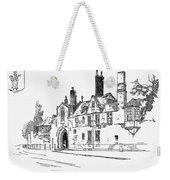 Salisbury Cathedral: Close Weekender Tote Bag