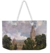 Salisbury Cathedral From The South West Weekender Tote Bag