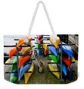 Salma Kayaks Weekender Tote Bag