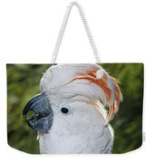 Salmon-crested Cockatoo Cacatua Weekender Tote Bag
