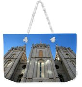 Salt Lake Temple Weekender Tote Bag