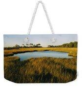 Salt Marsh, Assateague Island, Virginia Weekender Tote Bag