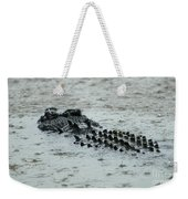 Salt Water Crocodile 3 Weekender Tote Bag