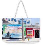 Salt Water Taffy Panorama Balboa California Weekender Tote Bag