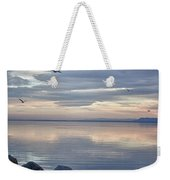 Salton Sea Sunset Weekender Tote Bag