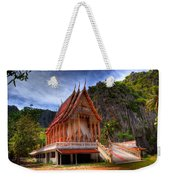Sam Roi Yot Temple Weekender Tote Bag
