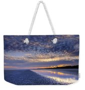 Same Night Five Fifty Two Pm Weekender Tote Bag
