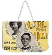 Same Sort Of Girl Weekender Tote Bag by Mel Thompson