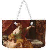 Samson And Delilah Weekender Tote Bag