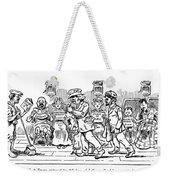 Samuel L. Clemens Cartoon Weekender Tote Bag
