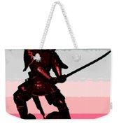 Samurai Sunrise Weekender Tote Bag