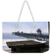 San Clemente Pier California Weekender Tote Bag