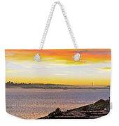 San Francisco Bay Wide View Weekender Tote Bag