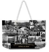 San Francisco Earthquake Weekender Tote Bag