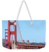 San Francisco Golden Gate Bridge . 7d8157 Weekender Tote Bag