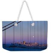 San Francisco Moon Weekender Tote Bag